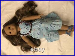 18 Inch Kanani American Girl Doll Of The Year 2011 SLIGHTLY USED