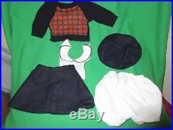 1986 Pleasant Company Molly White Body Doll in Box w Accessories