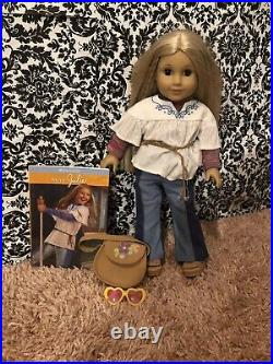 2007 American Girl Julie Albright Historic Doll Used