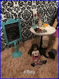 2015 American Girl Of The Year Grace Thomas Bistro Set Used GOTY