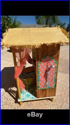 2016 American Girl Doll Lea Rainforest House Furniture Hut Accessories