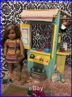2017 American Girl Of The Year Lea Clark Retired Used Lot GOTY