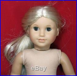 (5) American Girl 18 Doll Lot All Blondes No Clothes
