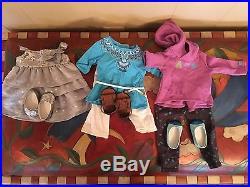 7 American Girl Dolls Caroline, Emily Both Retired Samantha Isabelle Truly Me