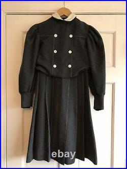 AH19 American Girl Samantha School Dress Pleasant Company Child Size 10
