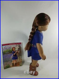 AMERICAN GIRL 18inch Doll lot collection SAMANTA GRACE AND SAIGE