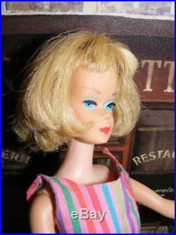 AMERICAN GIRL BARBIE HIGH COLOR Thick Long HAIR Blonde Doll Bendable LEG Vintage