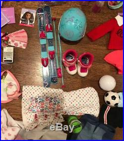 AMERICAN GIRL DOLL HUGE LOT 10 Dolls, Clothing, Accessories, Shoes, Books, More