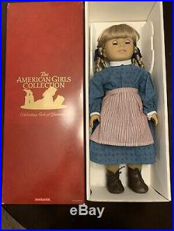 AMERICAN GIRL KIRSTEN Pleasant Company Retired Excellent Condition Tan body Doll