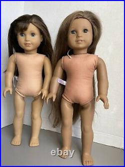 AMERICAN GIRL Kanani &Grace Thomas RETIRED Lot