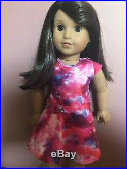 AMERICAN GIRL LUCIANA VEGA 18 DOLL OF THE YEAR and BOOK