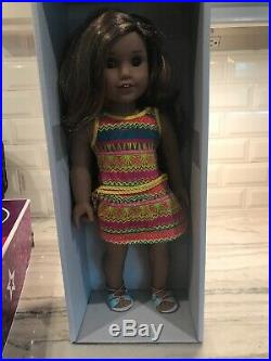 AMERICAN GIRL Lea Clark Doll Girl of the Year GOTY withbox Retired Extra Clothes