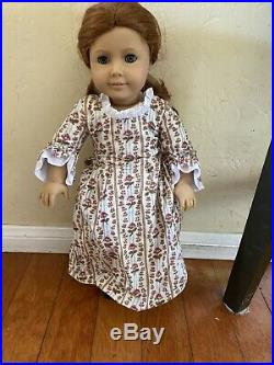 AMERICAN GIRL SIGNED Felicity DOLL PLEASANT ROLAND 1991 PLEASANT CO Rare Withbox