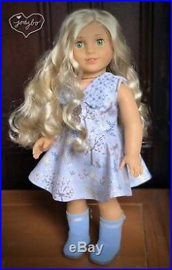 ANGELIC Custom American Girl Doll Marie-Grace Caroline Felicity OOAK jodybo