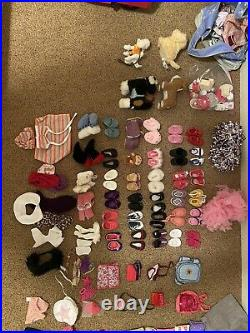 American Girl 18 Doll Clothes and shoes BIG LOT
