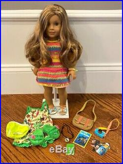 American Girl 18 Doll Lea Clark 2016 Girl of The Year-Used