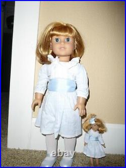 American Girl 18 Doll Nellie O'Malley AND Mini Nellie Retired