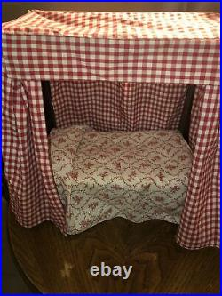 American Girl 1995 Pleasant Company Felicity Bed And Bedding Complete EUC