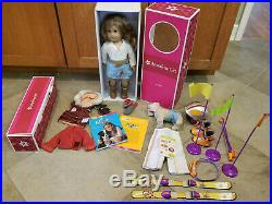 American Girl 2007 Cowgirl Nicki Doll GOTY with Ski set and Many Accessories