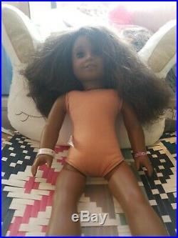 American Girl 3 Doll Lot African American Pleasant Company