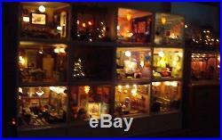 American Girl AG Mini Illuma Rooms All Complete Dollhouses Miniature 1/12 Scale