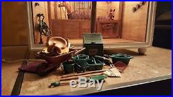 American Girl AG Minis Illuma Room Stable with Horses and Accessories & Power Cord