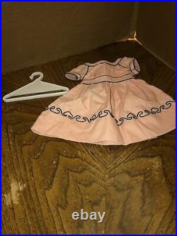 American Girl Addy Cape Island Dress & Hanger EUC RETIRED