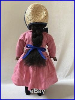 American Girl Addy Walker Doll Pleasant Company 1993 Orig. Meet Outfit