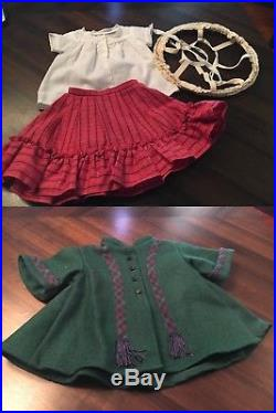 American Girl Addy Walker Huge Lot Bed Washstand Retired Outfits & Accessories