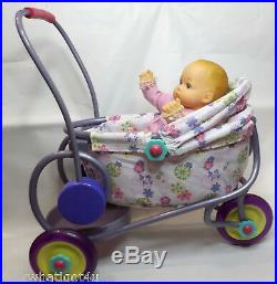 American Girl Baby Polly doll with stroller Felicity's baby sister doll