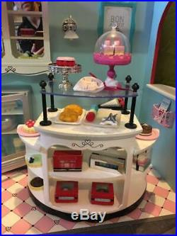 American Girl Bakery Patisserie With All Accessories