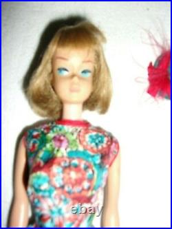 American Girl Barbie doll Ash Blonde long hair bend leg wearing Outdoor Art Show