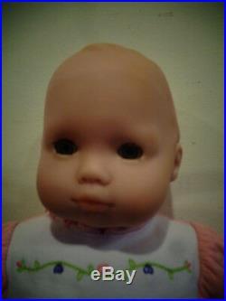 American Girl Bitty Baby Doll Lot Basket Diaper Bag Car Seat Clothing Bear Books