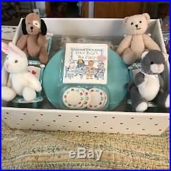 American Girl Bitty Baby Tea Set With Bitty Baby Bunch