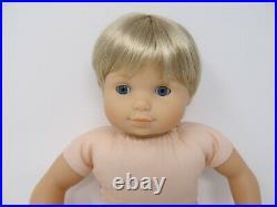 American Girl Bitty Baby Twins dolls Blonde Hair Blue eyes Boy & Girl Retired