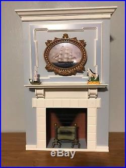 American Girl Caroline Parlor Fireplace