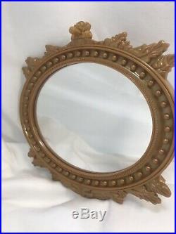 American Girl Carolines Parlor RETIRED Fireplace Works Mirror Windowseat Rug