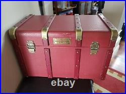 American Girl Collection Retired Kit Doll Dresser Trunk Original Rare 3 Latch