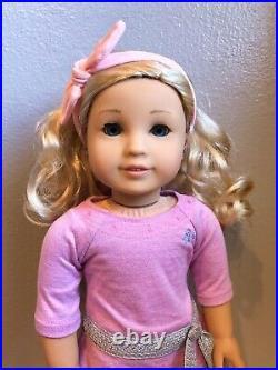 American Girl Custom Doll OOAK Truly Me 64 Blonde Hair Blue Eyes Asian