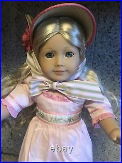 American Girl Doll 2013 Caroline Abbott 18 Blond Hair Aquamarine Eyes RETIRED