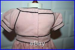 American Girl Doll Addy Cape Island Dress & Ribbon RETIRED HTF