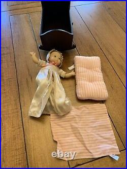 American Girl Doll Baby Polly, Cradle & Mattress Felicity Sister RETIRED