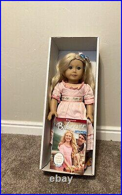 American Girl Doll Caroline with box and book