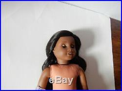 American Girl Doll Custom Sonali Mold Black Hair Blue Eyes