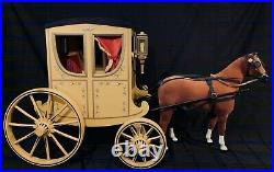 American Girl Doll Felicity Carriage with the horse and in excellent condition
