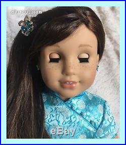 American Girl Doll GOTY Grace Thomas Pierced Ears EUC