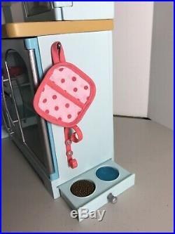 American Girl Doll Gourmet Kitchen Set for 18 Doll Beforever