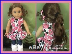American Girl Doll Historical Marie Grace Gardner EUC + Full Meet, Lot