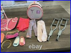American Girl Doll ISABELLE with Ballet Bar & Fashion 2014 Doll of the Year