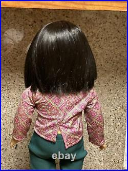 American Girl Doll Ivy Ling with Meet Outfit Retired